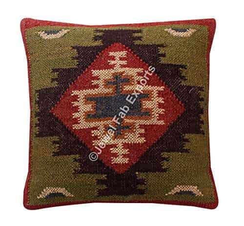 Vintage Kilim Rug Cushions Covers