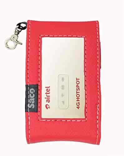 Saco-Pouch-for-AIRTEL-4G-Multi-Sim-Supported-4G-Wifi-Hotspot-Latest-Unlocked-2g-3g-4g-(Red)