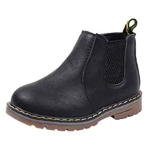 Baby Deer Baby 2-6791R Western Boot Black 4 Child US Toddler
