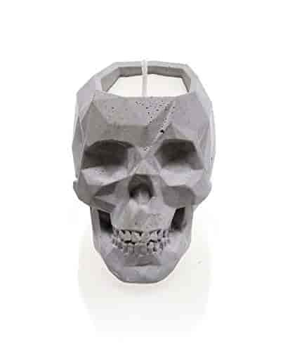 Scent for Her Candellana Candles Candlefort Candles Concrete Skull-Her Her