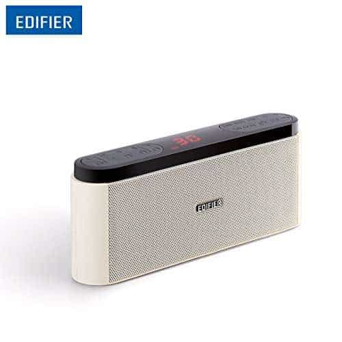 EDIFIER-MP19-Mini-Portable-Speakers-With-FM-Radio-LED-display-Speaker-MP3-Player-with-Neodymium-speaker-drivers-huge-buttons-White