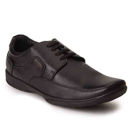 Red Chief Black Formal Shoes for Men