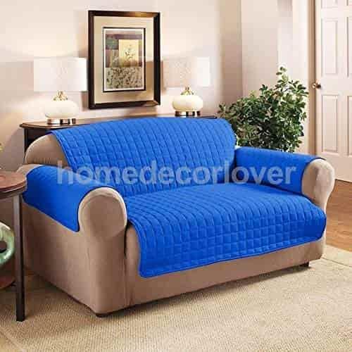 Buy Pinkdose Navy Blue 2 Seater: Various Furniture Protector