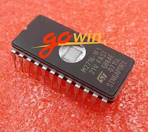 10pcs M2716-1F1 2716 Memory UV EPROM IC Nouveau