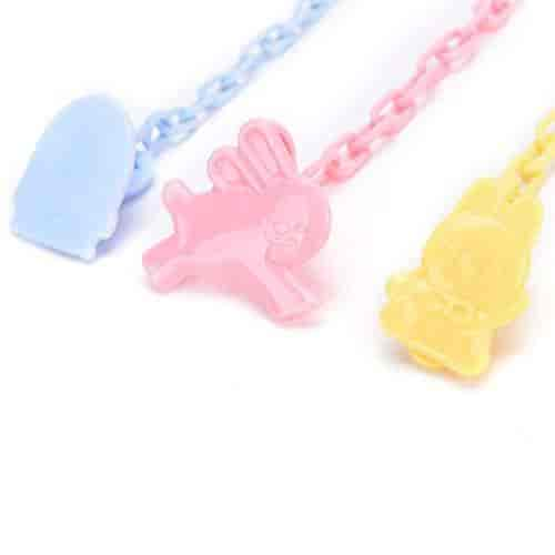 Toddler Hood Baby Dummy Pacifier Soother Nipple Chain Clip Buckle Holder LF