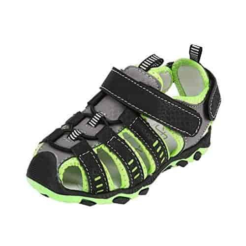 Voberry@ Baby Boy Summer Shoes Infant Sandals PU Leather Soft Sole Toddler First Walker Shoes