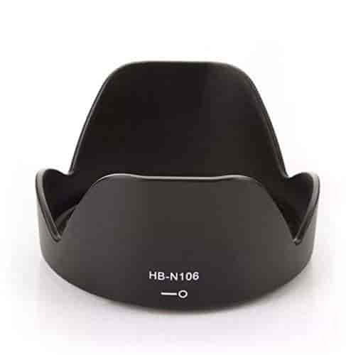 JJC LH-N102 Bayonet Lens Hood Shade For Nikon 1 Nikkor 11-27.5mm f//3.5-5.6 lens Replaces Nikon HN-N102