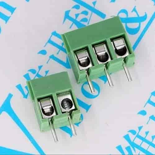 10pcs KF350-2P 3.5mm Pitch 2 pin Straight Pin PCB Screw Terminal Blocks