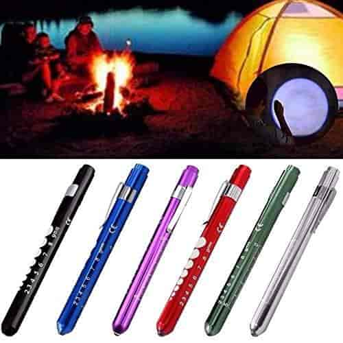 New Nurse Emergency Scale Pen Flashlights Surgical Penlight Medical Torch