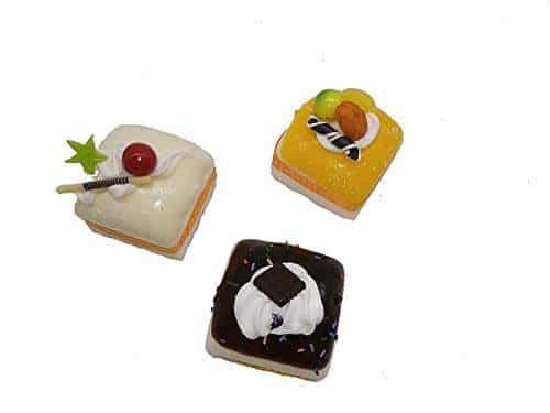 Rikki Knight Peace Love Cupcakes Design Square Fridge Magnet