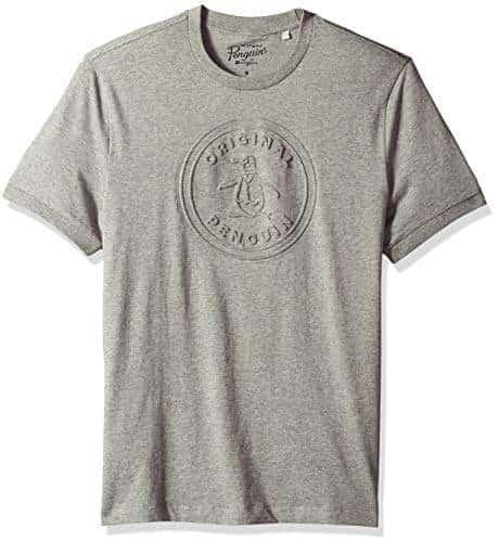 Original Penguin Mens Short Sleeve Fashion Circle Logo Tee