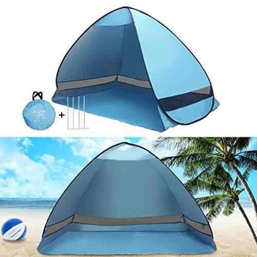 P Prettyia 2 Pcs//Set Camping Travel Canopy Tent Awning Tarp Pole Kit Iron Rod Frames Hiking