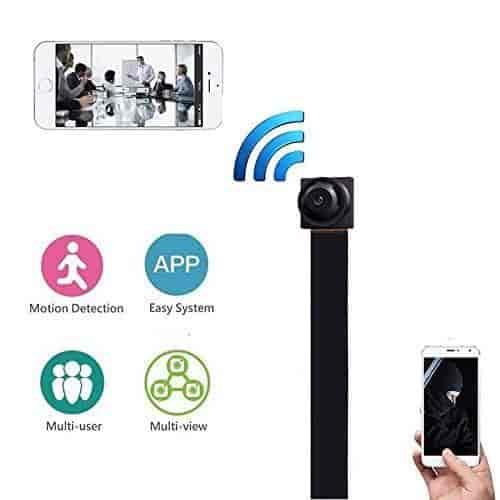 Wireless IP Hidden Spy Mini Camera WIFI HD 1080P For Home Surveillance Camcorder