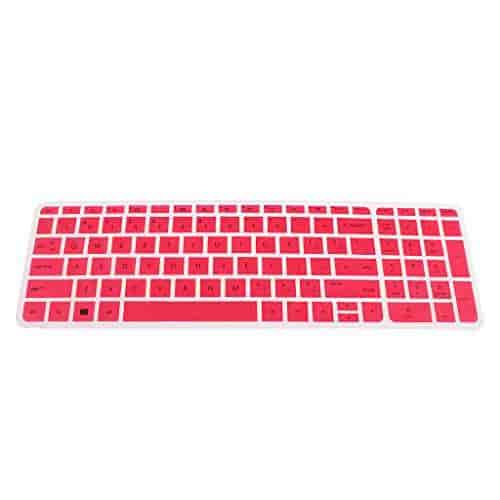 1pc Silicone Keyboard Skin Protector Film Case Cover for MacBook Pro 13//15//17 inch Laptop Keyboard Cover-Rose Red