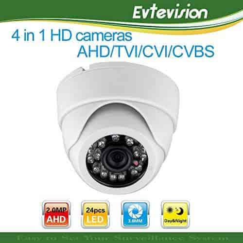 CMHT2722F HD TVI 2.1MP 3.6mm Lens TVI//AHD//CVI//960H 4 in 1 131ft IR Turret Camera