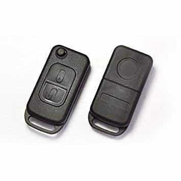 4 Buttons Remote Flip Folding Key Shell Case For Mercedes Benz M S CL M ML E SL