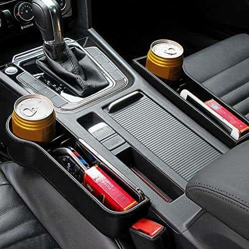 Seat Storage Box Organizer Case Front Left Universal Car Organizer Key Holder M1