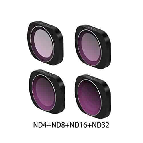 OUYAWEI MCUV CPL NDPL ND64-PL ND32-PL ND4 ND8 Camera Lens Filter Kit for DJI OSMO Pocket Gimbal Accessories UV+CPL+ND4+ND8+ND16+ND32
