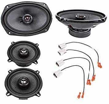 "2002-2008 Dodge Ram 1500 5.25/"" Rear Door Factory Speaker Upgrade Package by Skar"