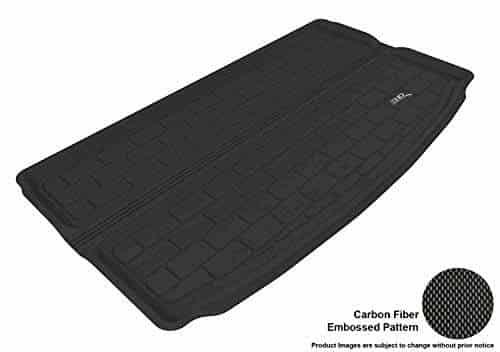 Black Kagu Rubber 3D MAXpider Cargo Custom Fit All-Weather Floor Mat for Select Mercedes-Benz GLK-Class Models