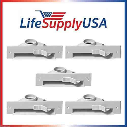 LifeSupplyUSA New Central VAC PAN Vacuum Automatic Dustpan Sweep Inlet Valve in White