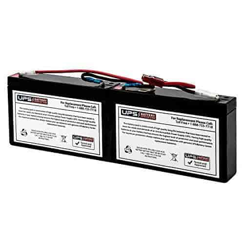 UPSBatteryCenter RBC6 Compatible Battery Cartridge for BK125-1 Year Warranty