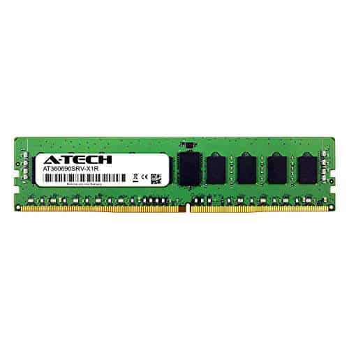 A-Tech 8GB Module for Intel Xeon E5-2643V3 Server Memory Ram AT360690SRV-X1R14 DDR4 PC4-21300 2666Mhz ECC Registered RDIMM 2rx8
