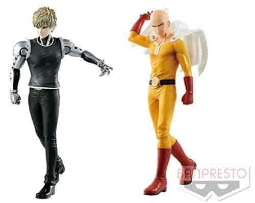 Banpresto One Punch Man DXF-Premium Figure-Saitama Multicolor