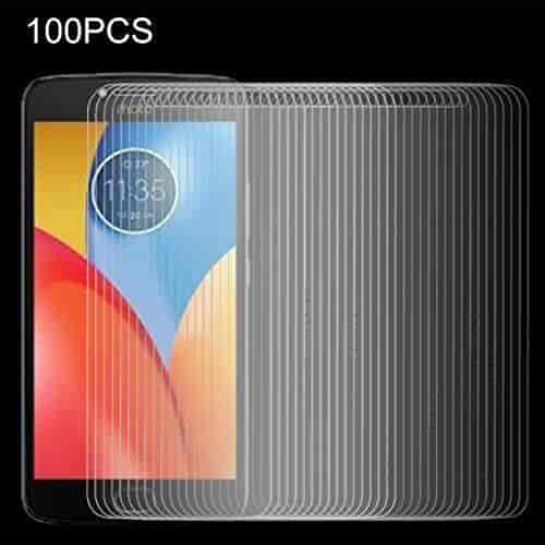 XHC Screen Protector Film 100 PCS for LG X Screen 0.26mm 9H Surface Hardness 2.5D Explosion-Proof Tempered Glass Screen Film Tempered Glass Film