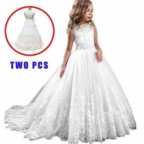 Buy Soledi Trailing Petticoat Two Pcs Girls Dress White Lace Bridesmaid Kids Dresses For Girl Long Princess Party Dress Vestido Features Price Reviews Online In India Justdial,Formal Wedding Dresses For Men