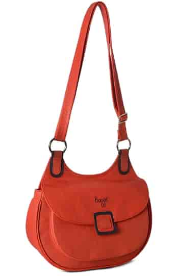 Baggit L Inverted Bindas Sling Bag Tomato 2054933