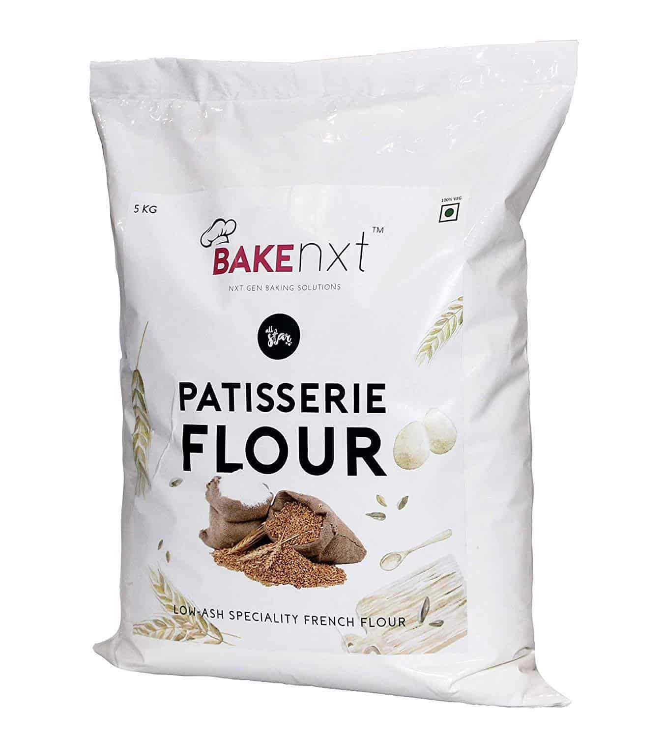 Bakenxt All Star Patisserie Flour 5 kg, Features, Price, Reviews Online in  India - Justdial