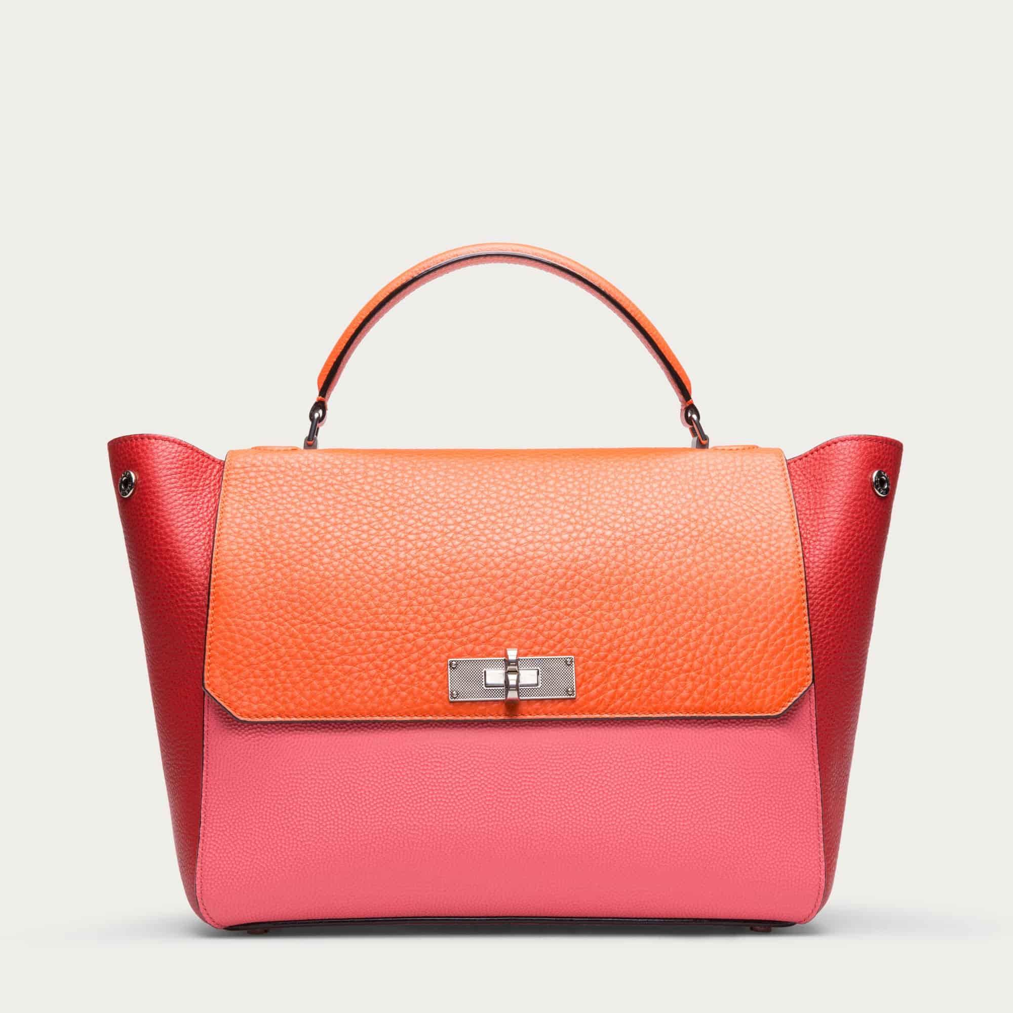 Bally Women B Turn Medium Leather Top Handle Bag Pasteque   000000006203752001  d9951a2c0b