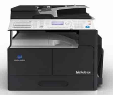 Konica Minolta Bizhub 226 Multi Function Color All In One Printer Black White