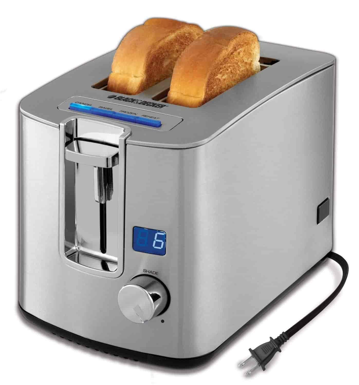 Black Westinghouse WT2201B 2 Slice Toaster Home Toasters thelibas.com