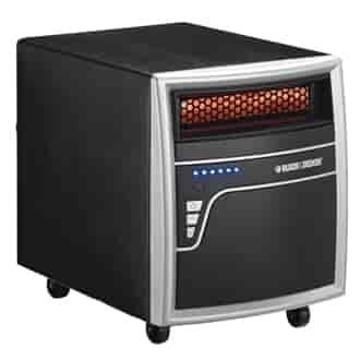 buy black & decker infrared quartz room heater [7bdq1000