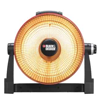 buy black & decker utility radiant parabolic room heater [bdh-106