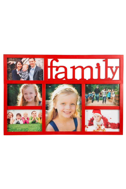 Buy Blacksmith Plastic Six Photo Frame Family Collage (47 cm x 32 cm ...