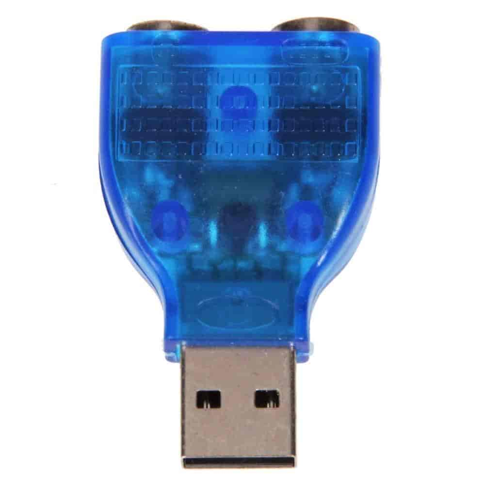 Buy Bluebill Basic Standard Quality Usb To Ps 2 Converter Adapter Ps2 Keyboard Mouse For Blue