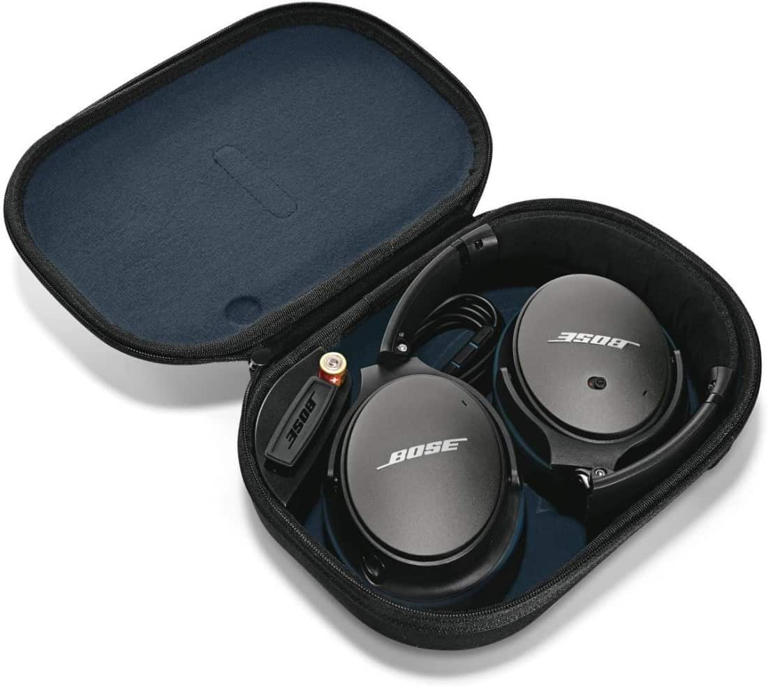 Buy Bose Quietcomfort 25 Acoustic Noise Cancelling Wired Headphone Qc25 For Samsung Devices Black Apple