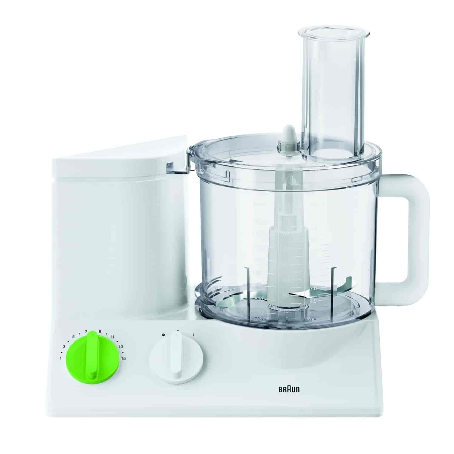 Buy Braun TributeCollection Food Processor FP 3010 White/Green ...