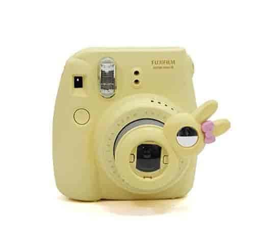CAIUL-Rabbit-Model-Close-Up-Lens-for-Instax-Mini-7S-Mini-8-Cameras-(Self-Portrait-Mirror)-Yellow-Color-yellow-Consumer-Portable-Electronics-Gadgets