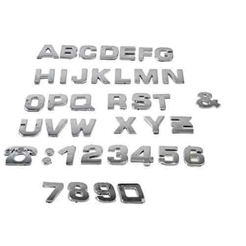 Buy Car Auto 3d Emblem Badge Decals Chrome Letters Stickers 200 Pcs