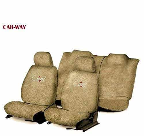 Buy CAR-WAY-Car Seat Cover Towel Type (Beige) for Chevrolet Cruze ...
