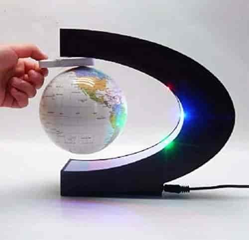 Buy carejoy c shape decoration magnetic levitation floating globe carejoy c shape decoration magnetic levitation floating globe world map gumiabroncs Gallery