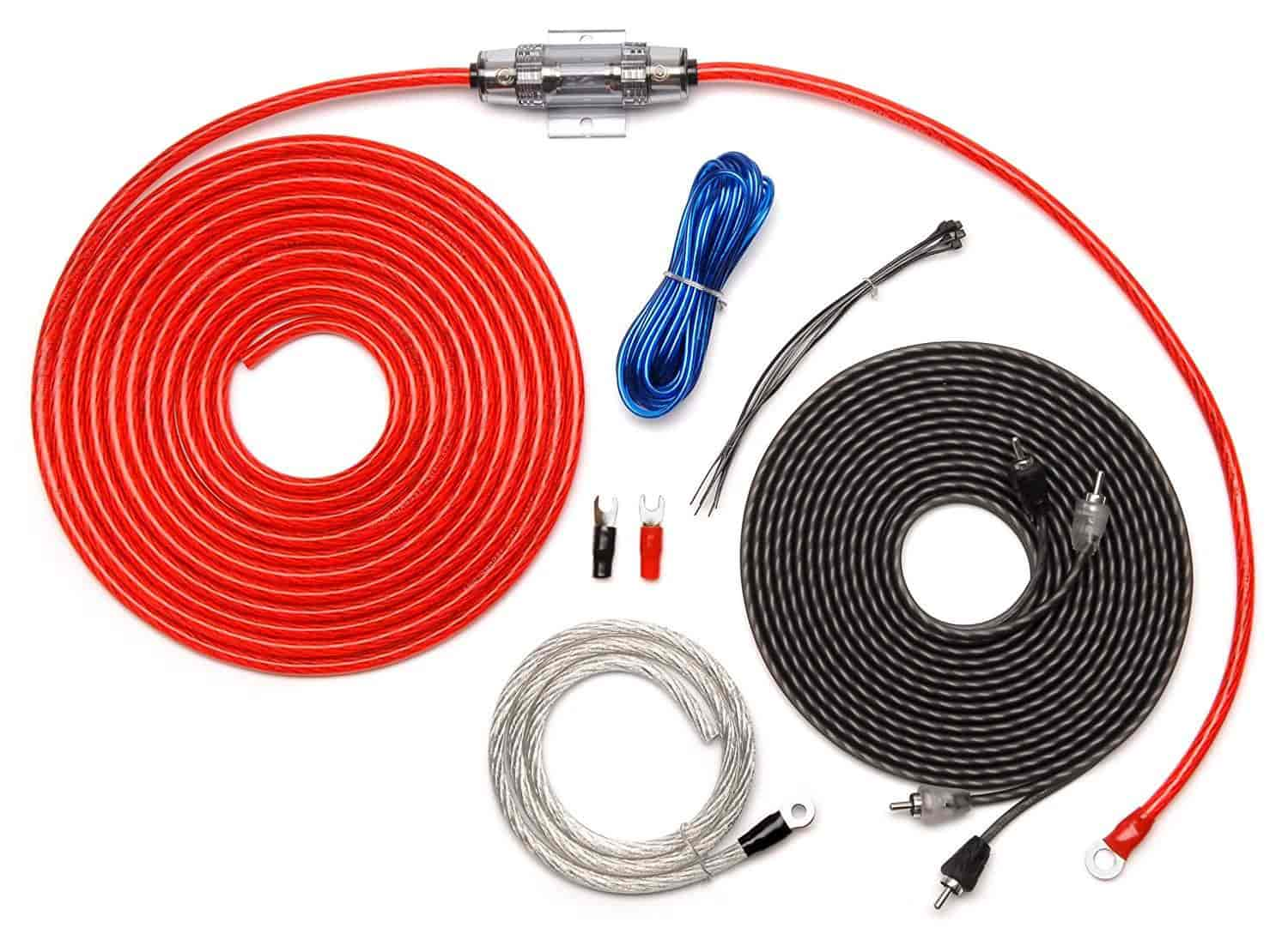 Buy Carwires Aik Ps8000 500 Watt 8 Awg Car Amplifier Install Kit How To A Amp
