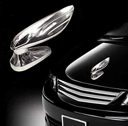 Buy Chrome Wing Emblem Logo Car Modification Wing Car Logo Front