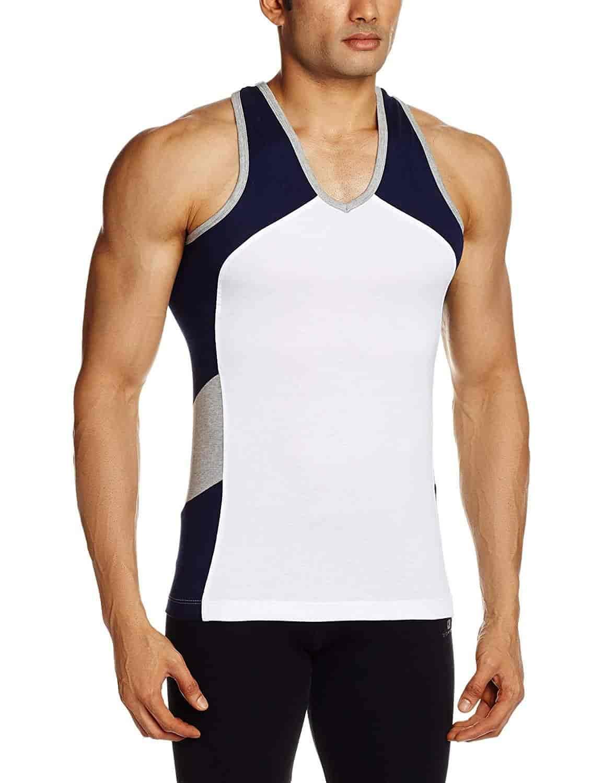 Chromozome men's cotton vest