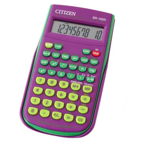 Citizen-Scientific-Calculator-Purple-SR-135FPU