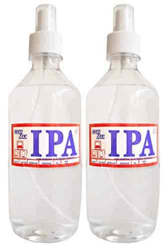 CLEANMAX-IPA-99-ISOPROPYL-Alcohol-(E-Grade)-500ml-(Pack-of-2)-to-Clean-Mobiles-Laptops-LCD-Monitors-amp-Electronic-Boards-Electronic-Services
